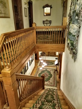Penn Yan, NY: Top of stairs.
