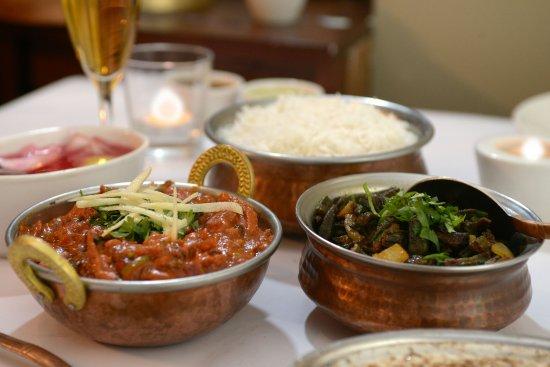Chicken Karahi and Bhindi Masala by India Gate Epsom Auckland