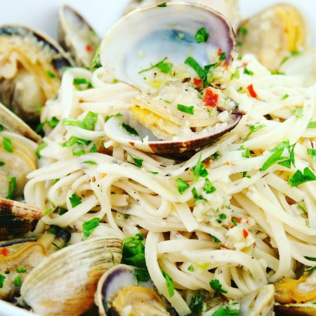 Valley Stream, Нью-Йорк: Linguine White Clam Sauce