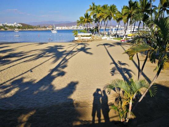 Manzanillo Bay as seen from Las Hadas