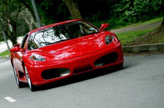 Self-Drive Ferrari Sports Car...