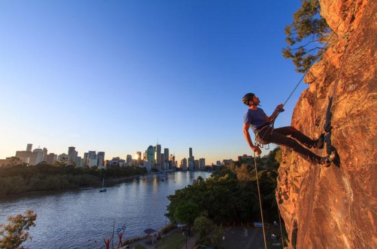 Brisbane Sunset Abseil
