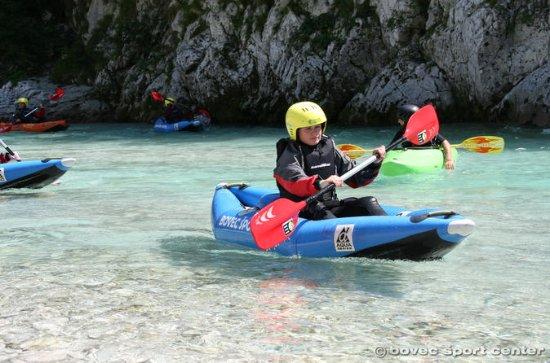 Kayak sur la rivière Soca