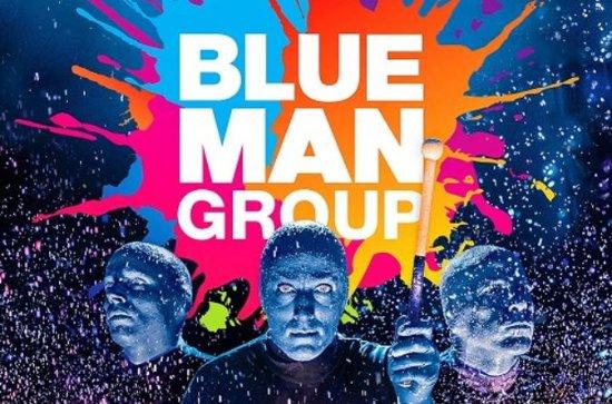 Espectáculo en directo de Blue Man...