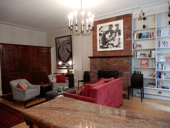 East Village Apartments: living room