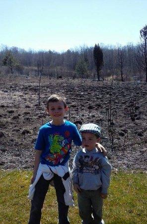 Μάνσφιλντ, Οχάιο: Controlled prairie burn