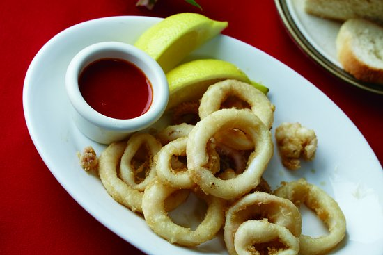 Valparaiso, IN: Calamares a la Romana. French fried Squid.