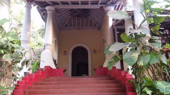Anjuna, India: Balcony