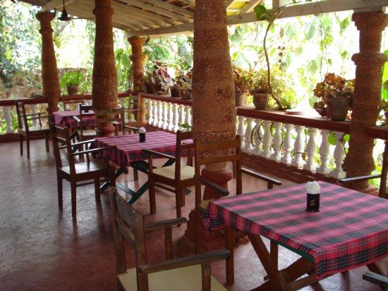 Anjuna, الهند: Restaurant