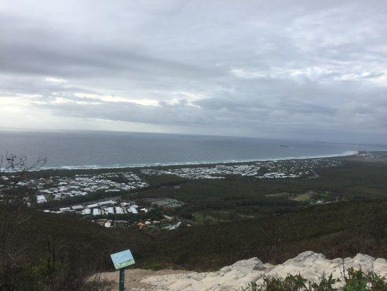 Coolum Beach, Australia: The view from Mount Coolum