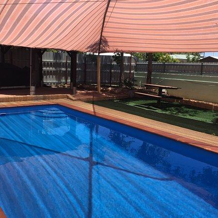 Mount Isa, Australia: pool side