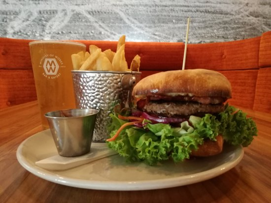 Twizel, New Zealand: Beef Burger