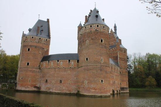 Flämisch-Brabant, Belgien: Замок Берсель
