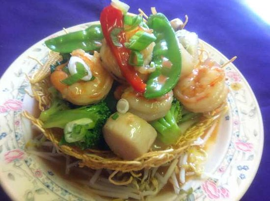 Smiths Falls, Kanada: Seafood Lover's in Bird's Nest!
