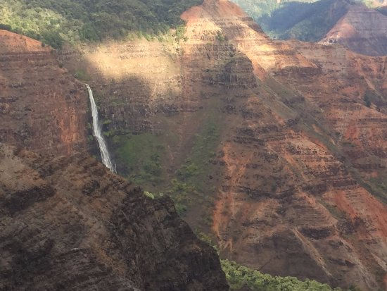 Waimea Canyon: Just another magnificent waterfall