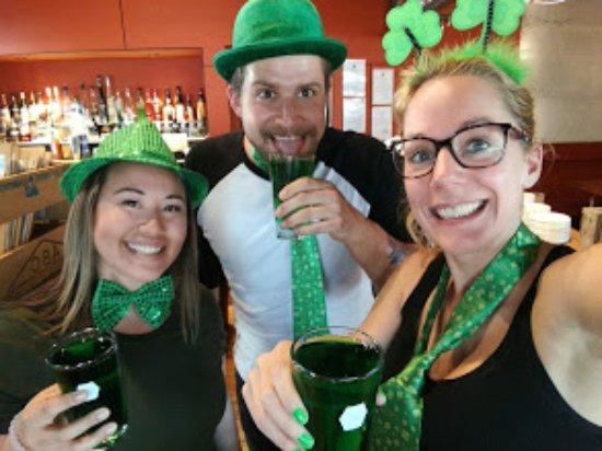 Twizel, Nueva Zelanda: Saint-Patrick's day crew!
