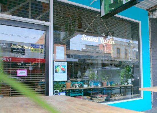 Windsor, Australien: Restaurant street front