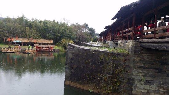 Wuyuan County, Cina: 婺源彩虹橋