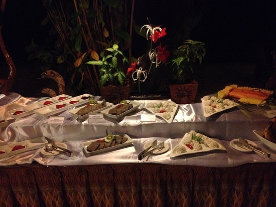 Siladen Resort & Spa: buffet