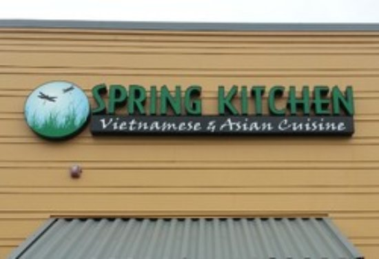 Beau Spring Kitchen Storefront Sign   Picture Of Spring Kitchen Vietnamese And  Asian Cuisine, Maple Valley   TripAdvisor