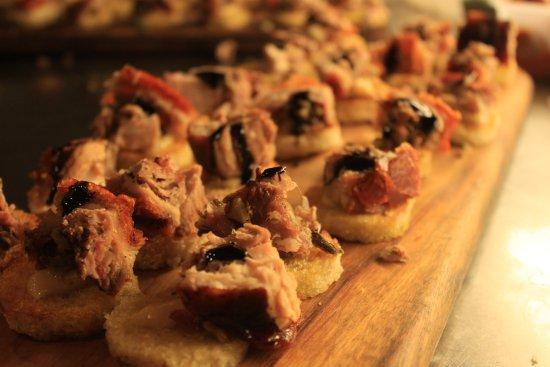 pork belly tart - Picture of Cinque Cucina e Caffe, Mona Vale ...