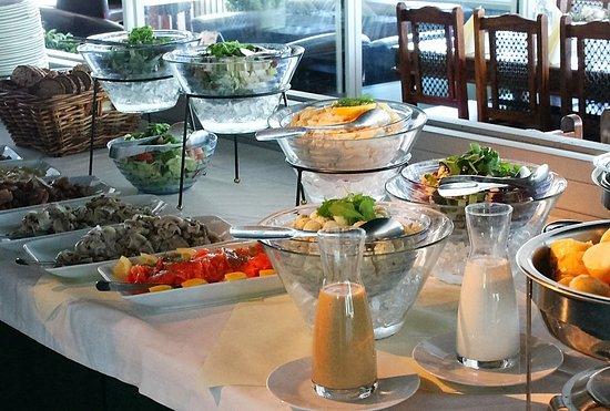 Heinola, Finland: buffet