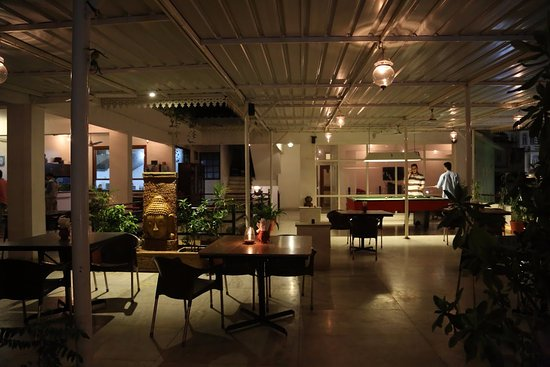 Natural View Restaurant Covered Area Of Our Rooftop Featuring The Closed Seating And