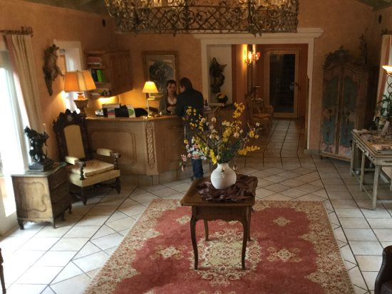 Hotel Edelweiss: Lobby