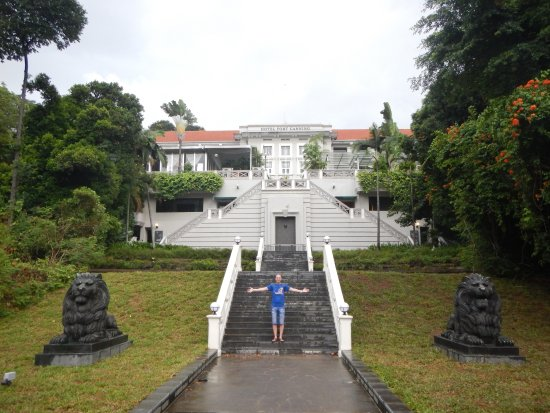 Hotel Fort Canning stairs