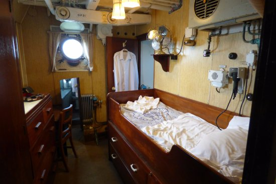 Chatham, UK: Captain's cabin
