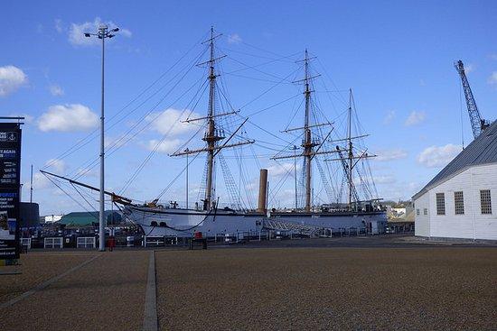 Chatham, UK: HMS Gannet 1878