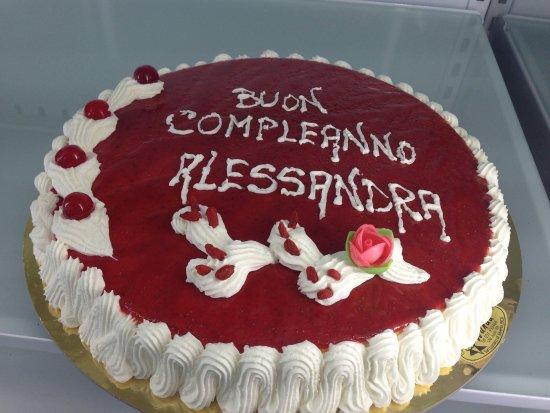 Amato Torta Fragolosa per Compleanno - Foto di Gelateria Wanda, San  QG78