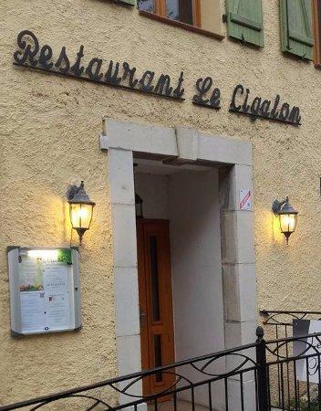 Flayosc, Prancis: restaurant le cigalon