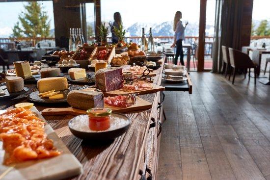 Chandolin, Switzerland: Buffet petit dejeuner