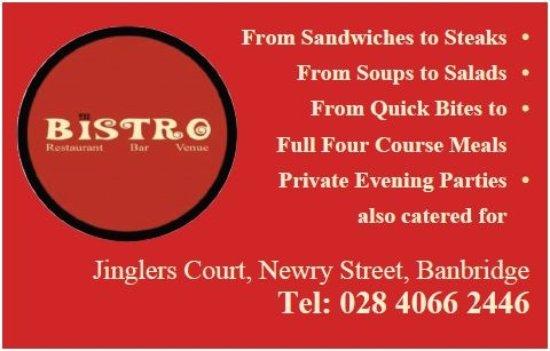 Banbridge, UK: Menu to suit all tastes