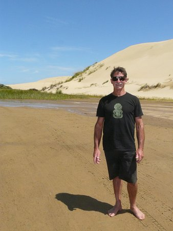 Kaitaia, Nueva Zelanda: Gary, our guide for the day