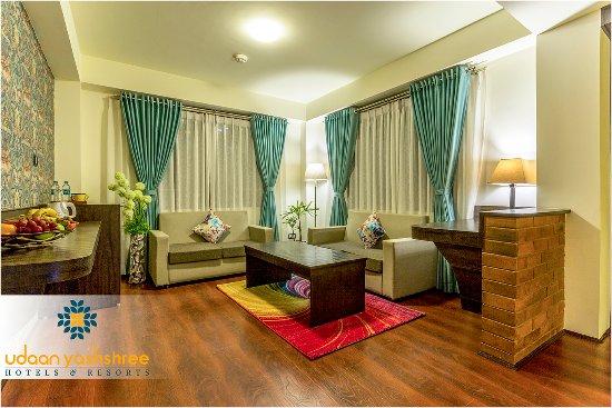 Living Area Of Luxury