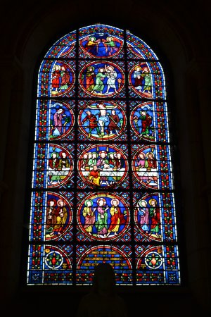 Apse window, Laon Cathedral