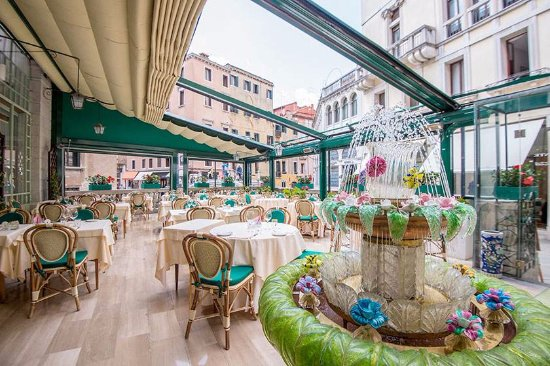 Open air Terrace - Picture of Ristorante La Terrazza, Venice ...