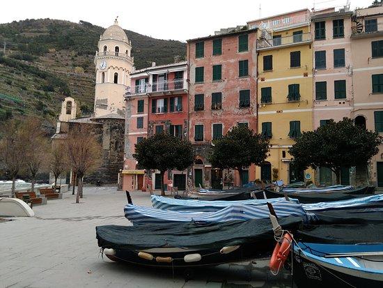 Parco Nazionale Cinque Terre: Plaza de Vernazza