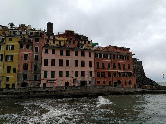 Parco Nazionale Cinque Terre: Casas en vernazza