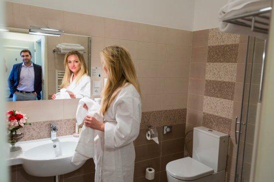 Znojmo, Czech Republic: Koupelna