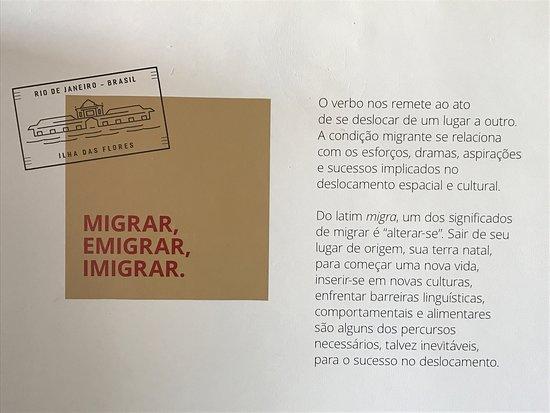 Centro De Memória Da Imigração Da Ilha Das Flores Foto De