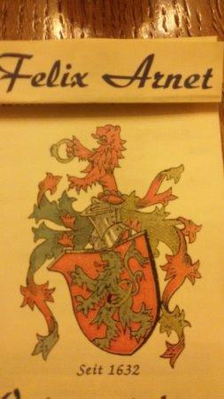 Walluf, Germany: Wappen der Familie Arnet