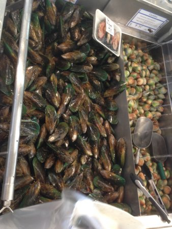 Auckland Region, Νέα Ζηλανδία: green mussels and clams