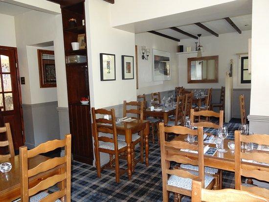 Settle, UK: Restaurant view
