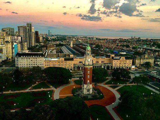 Sheraton Buenos Aires Hotel & Convention Center: Por do sol
