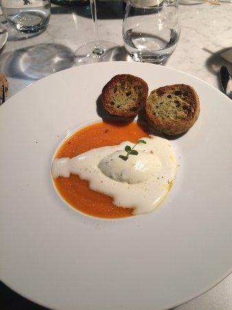 Chaponost, France: Une merveille pour les papilles!!! Et la tartelette fine chocolat un bonheur !!!
