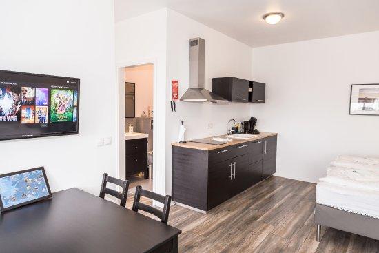 Eyrarbakki, Island: Deluxe studio apartment