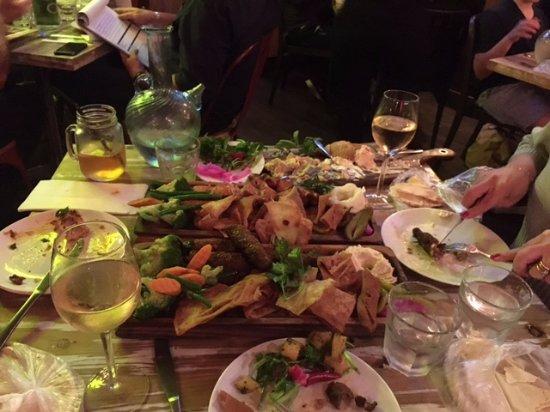 Roseville, Australia: 2 Dinner platters at Teta's